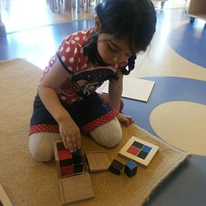 Montessori Büyük Küçük Küp