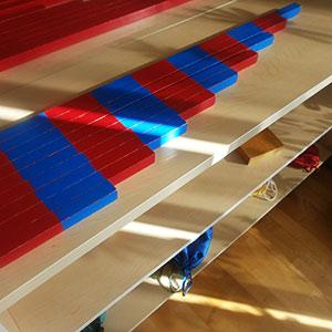 Montessori Sayma Çubukları