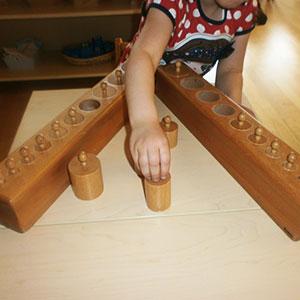 Montessori Silindir Blok